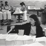 Funcionários e Máquina de Costura - 01-08-1989