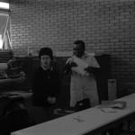 Funcionários e máquinas da IU -01-08-1989
