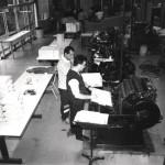 Funcionários da IU - Trabalhando - 20-06-1990