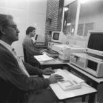 Funcionários Trabalhando na IU - em 19-09-1991