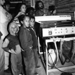 Crianças na IU  em - 10-08-1995