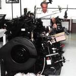 Máquina de Impressão Tipográfica