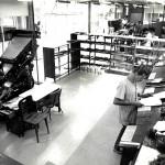 Área de Composição de Gabaritos Tipográficos